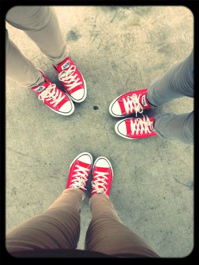 Me gloria & narissa we didnt notice we where matching until like a hour later c'x i have the smallest feet cx