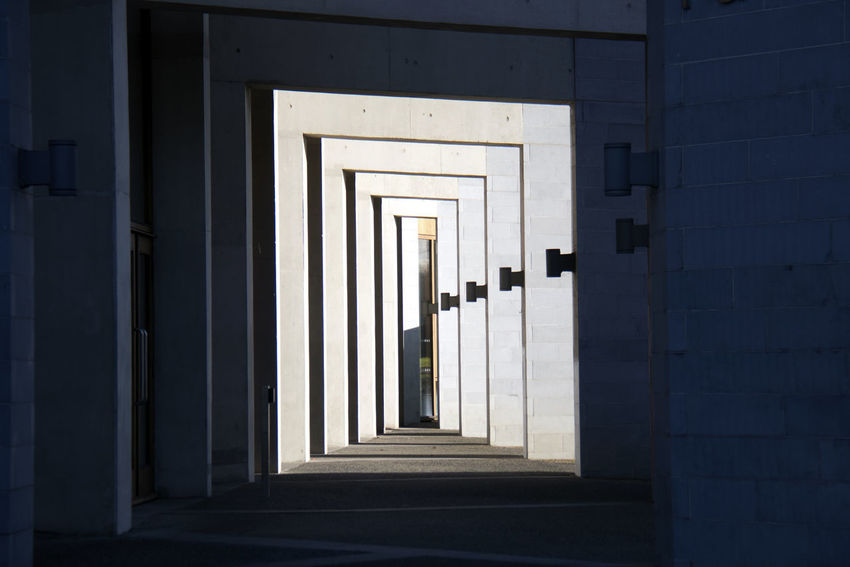 Architecture Built Structure Entrance Door Direction Building The Way Forward No People Building Exterior Day Sunlight Arcade Open Corridor Wall - Building Feature Arch Outdoors Diminishing Perspective Doorway Colonnade University Of Limerick