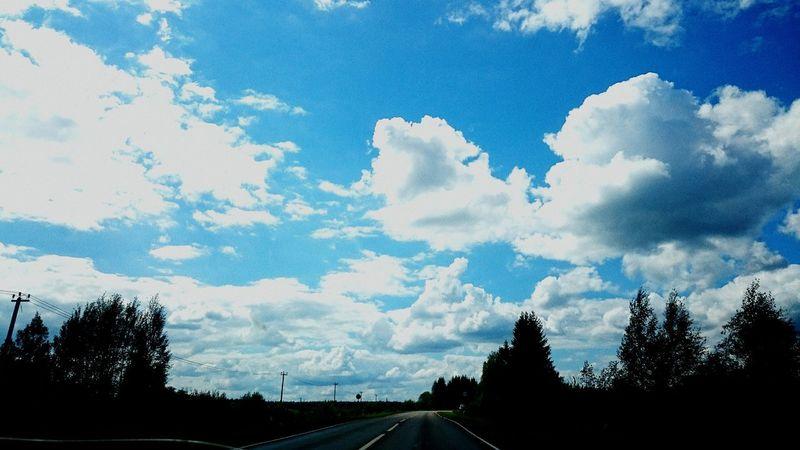 Sky Taking Photos