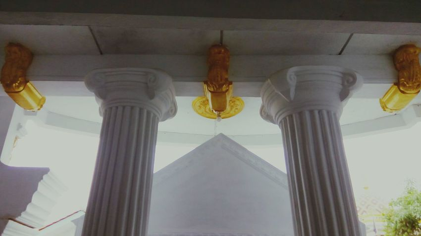 The ceiling building architectural style of europe, Architecture Gold Colored Indoors  Built Structure Architectural Column Homeart Whitebuildings White Color Home Interior First Eyeem Photo Home Showcase Interior Gold Ceiling Design Statue