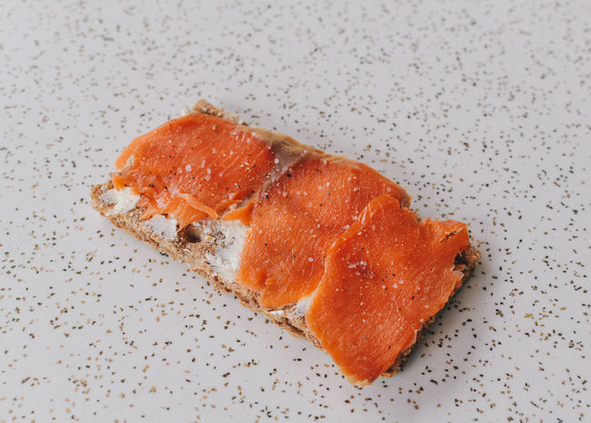 Swedish Simplicity, Rye bread with smoked salmon and cream cheese Butter Close-up Cream Cheese Food Food And Drink Fresh Freshness Hardbread Indoors  Ready-to-eat Recipe RYE Rye Bread Salmon Sandwich Simple Smoked Smoked Salmon  Snack Studio Shot Swedish Swedish Food White Background