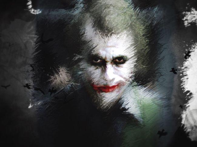 Joker Jokerface Illustration Rework Illusion Cynism Visage Du Monde ? Drawing