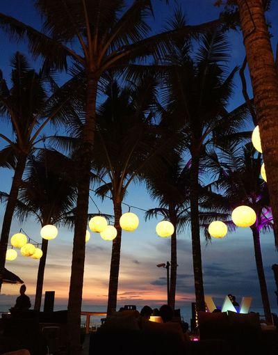Chilling at Woo Bar, Seminyak, Bali IPhoneography Sunset Chilling Club And Bar