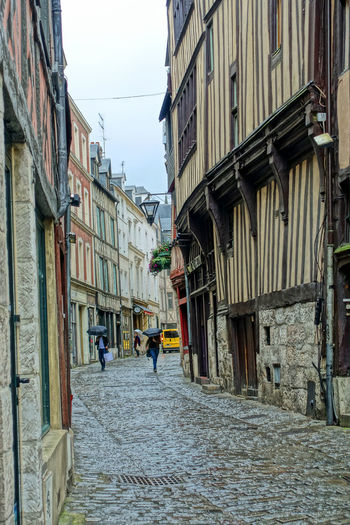 Half-Timbered houses - Rouen, France Adult Architecture Building Exterior Built Structure City Cobblestone Day Full Length Group Of People Half Timbered House History Place Joan Of Arc Lifestyles Mediievil Men Outdoors People Real People Residential Building Rouen, France Sky Street The Way Forward Walking Women Lost In The Landscape Stories From The City The Street Photographer - 2018 EyeEm Awards The Street Photographer - 2018 EyeEm Awards My Best Travel Photo Holiday Moments