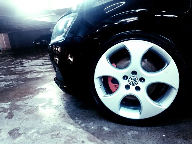 WV Wolswagen Polo GT Black White Blackandwhite