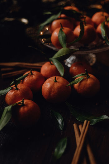 Close-up of orange fruits