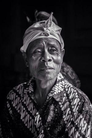 Portrait Bali Blackandwhite