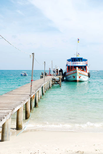 Koh Samed Day Horizon Over Water Koh Samed Outdoors Pier Samed Sea Sky Tourism Vacations Water เสม็ด