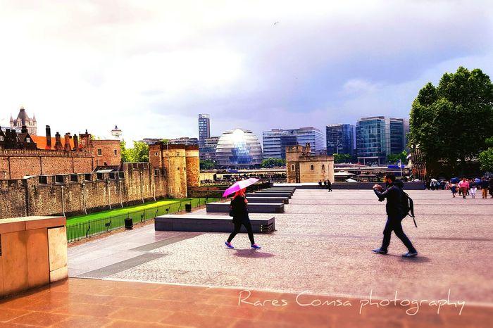 Londontower Photographyinmotion Architecture Story Pink Rainy Days☔ Travel Cloudsandcity Life