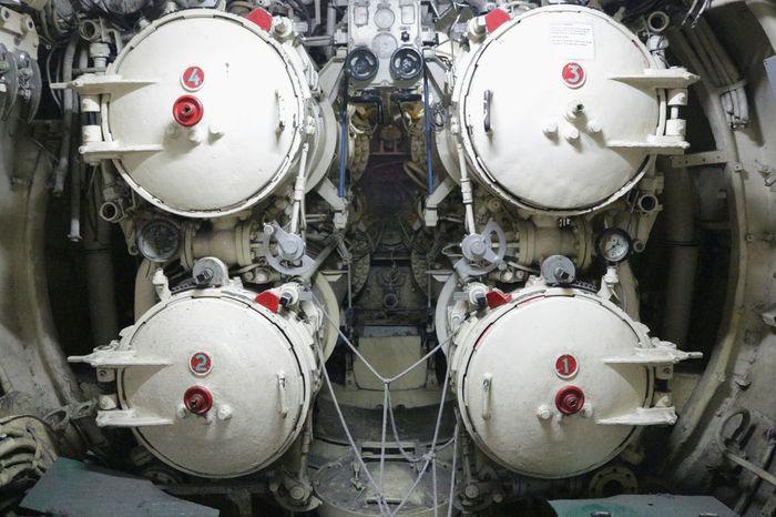 Machine Torpedo Launcher Pasopati Submarine Surabaya INDONESIA Oldmachine