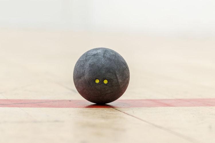 Ball Close-up Ground Having Fun Health Indoors  Movement RED LINE Rubber Ball Sport Squash Squash - Sport Squash Ball Two Dots