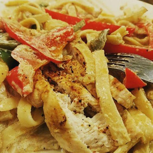 Homemade Food What's For Dinner? Dinner Tonight Cajun Chicken Pasta Cajun Peppers Comfort Foods Foodporn Foodphotography Foodie