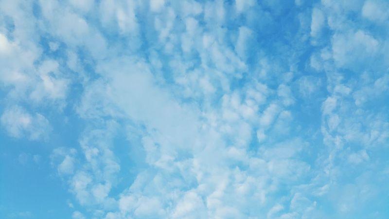 Clouds Himmel Und Wolken Nature Idyllic Beauty In Nature Himmel Natur Sky Sky And Clouds Wolken Entdecken Blue Color Palette
