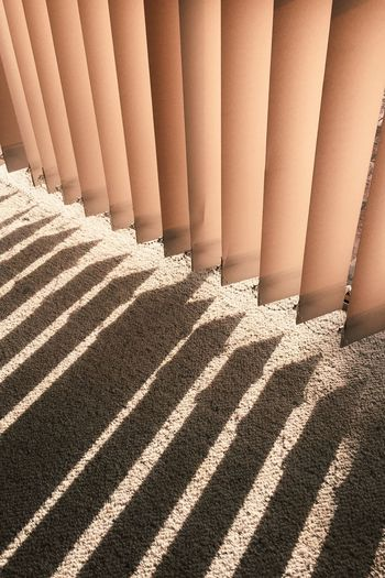 Shadows & Lights Lines And Shadows Lines And Lights Lines Curtains Sunlight Shadow In A Row Pattern Day No People Repetition