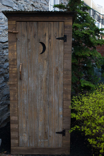 Architecture Building Exterior Built Structure Close-up Day Door No People Outdoors Outhouse Sky Tree Wood - Material