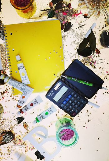Summer leaves. Back to school Yellow Messy Large Group Of Objects No People Man Made Object Vibrant Color Yellow Color YellowThe Color Of School Variation Messy Large Group Of Objects Dirty No People Man Made Object Yellow Color Vibrant Color City