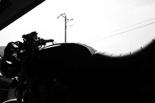 Honda CB750 RC42 Motercycle Motercycle Honda CB750 Silhouette Sky