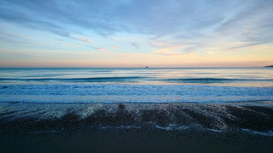 Bournemouth Beach Sea Bchdesign Sunset Cludporn