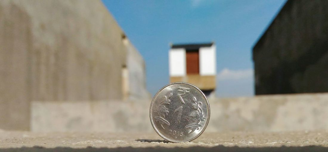 Coin Rupee Inr Money Close-up EyeEmNewHere EyeEm Ready   Business Stories Built Structure Focus On Foreground Summer Exploratorium My Best Photo