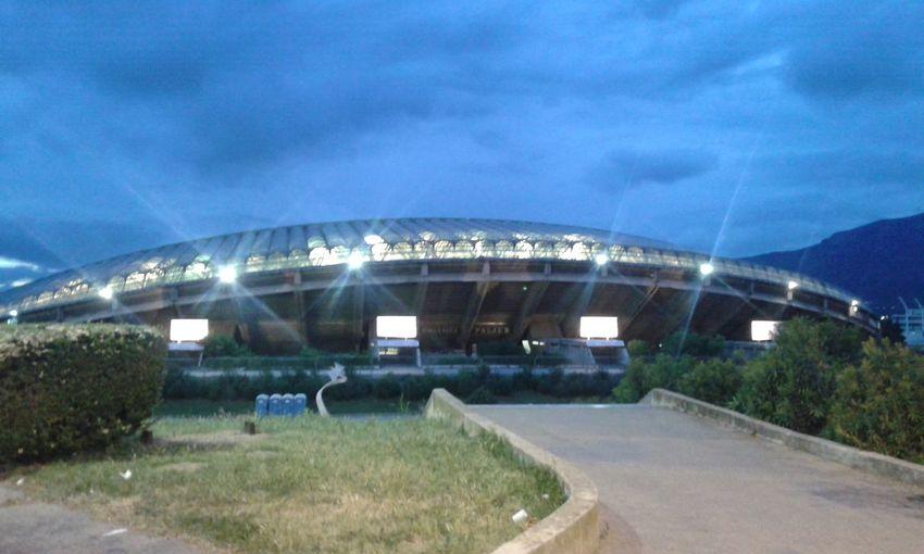 "Stadium ""Poljud"" Architecture Dalmatia Derby Match Football Stadium Grass Poljud Road Split"