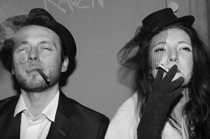 like Bonnie&Clyde The Street Photographer - 2018 EyeEm Awards The Portraitist - 2018 EyeEm Awards Capture The Moment Bnw_captures People And Places Bonnie&Clyde Portrait Headshot Two People