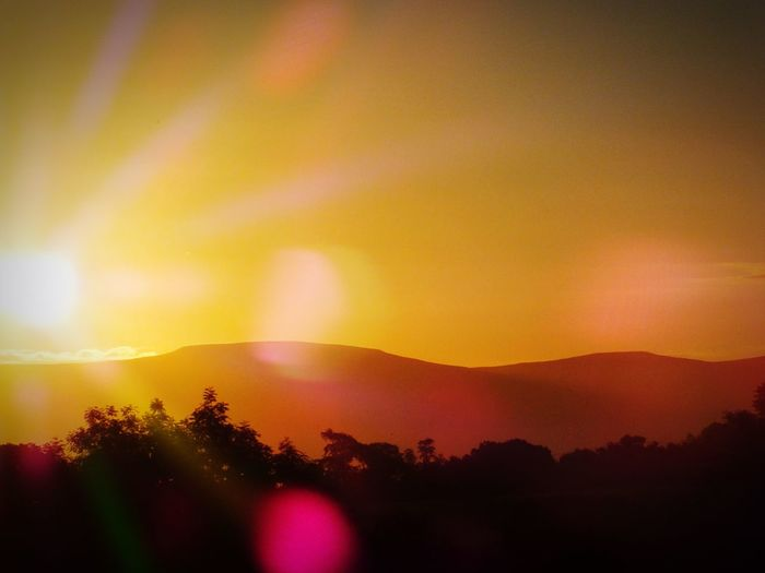 Sunrise Penrith Cumbria Landscape Nature Nature On Your Doorstep Glitch Landscapes With WhiteWall