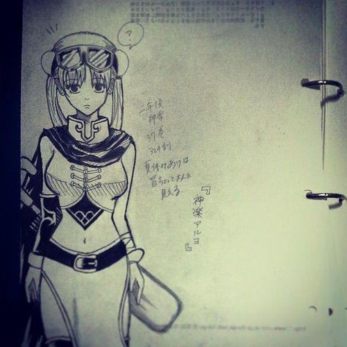 Anime Comic Gintama Gintoki Kagura Illust 漫画 銀魂 神楽 絵