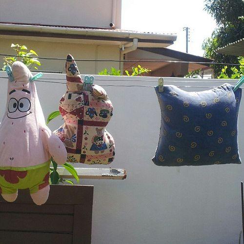 Mum's work when at home Sigh Apoo Patrick Rabbit bantalbutt