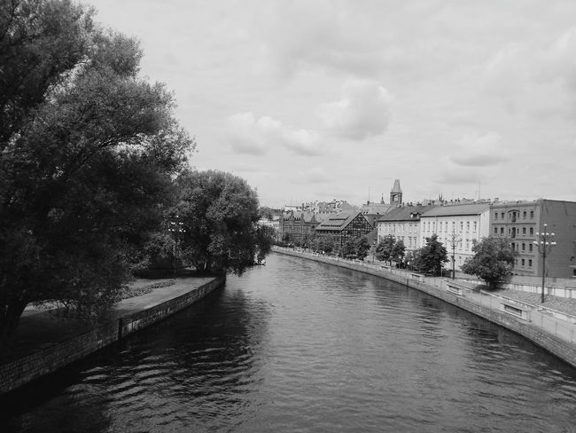 Poland Bydgoszcz B&w Blackandwhite Black & White Wisła River River View City