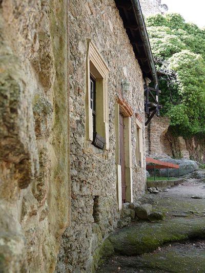 Castle Chojnik ruins... Architecture