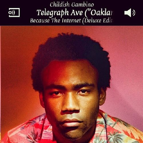 This song man, lol so addicting! Gambino Movement Telegraph Oakland coverart mystery rapper becausetheinternet sick flow jammin music bump follow me