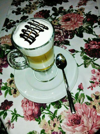 Coffee Coffeetime Mocha Machiatto Lattemacchiato Coffee Art Drinking Dring Drinking A Latte