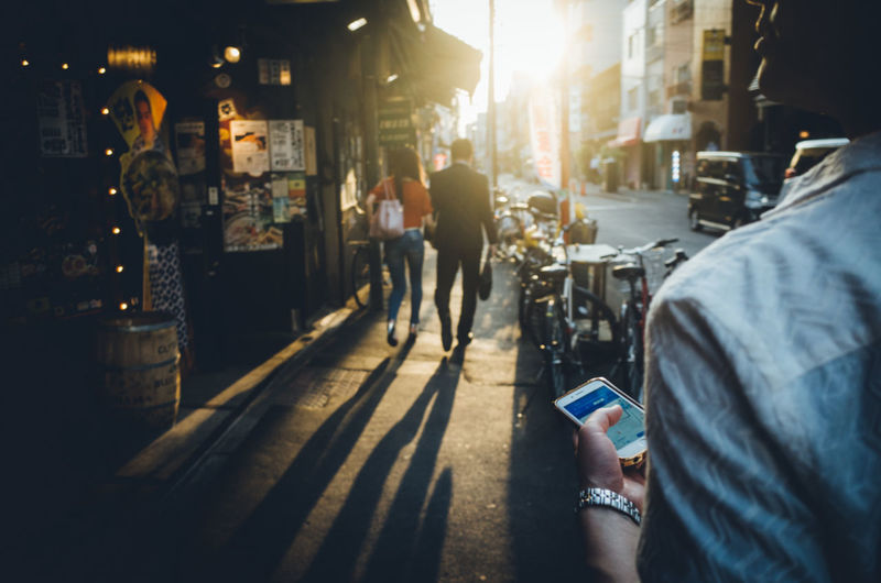 Backstreets & Alleyways Couple Japan Japan Lovers Sentimental Silhouette Simple Moment Sunlight The Creative - 2018 EyeEm Awards The Street Photographer - 2018 EyeEm Awards The Traveler - 2018 EyeEm Awards Tokyo Tourist Travel Urban Exploration Architecture Asakusa Atmospheric Mood Building Exterior Built Structure City City Life Communication Evening Holding Incidental People Lens Flare Lifestyles Light And Shadow Men Nostalgia Outdoors People Real People Shadow Street Sunlight Sunset Technology Tourism Transportation Walking Wireless Technology Urban Fashion Jungle #urbanana: The Urban Playground