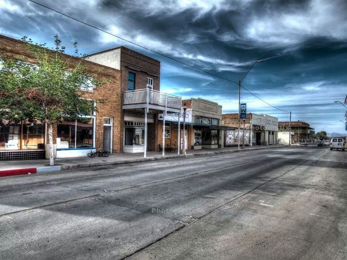Historic town. Historic Downtown HDR Collection Beautiful be
