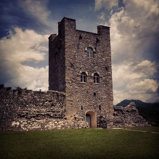 Ghivizzano Tower Ghivizzano Tuscany Italy Travel