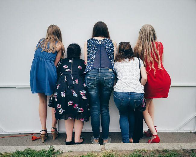 Girls Streetphotography Moscow Parkgorkogo
