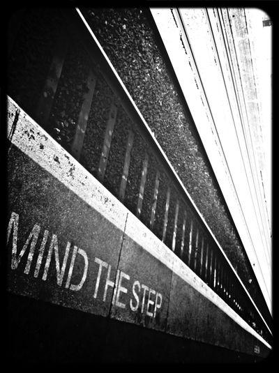 Commuting Train Tracks Mind The Gap Lines