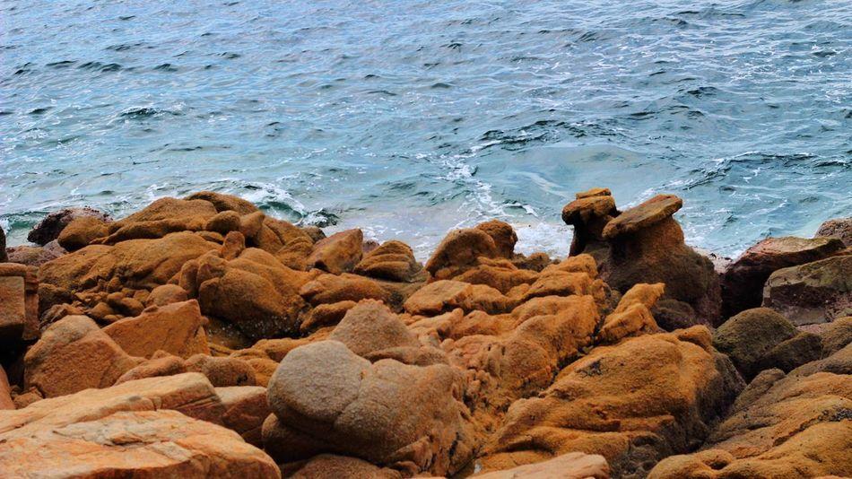 Rocks & Sea TheWeekOnEyeEM 50mm CanonT6 Colors Sea Rocks And Water