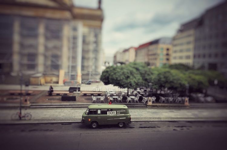 Car Transportation Land Vehicle Mode Of Transport Architecture Building Exterior Built Structure Road Street Day Sky City No People Outdoors Berlin Berlin Photography Berlin Mitte