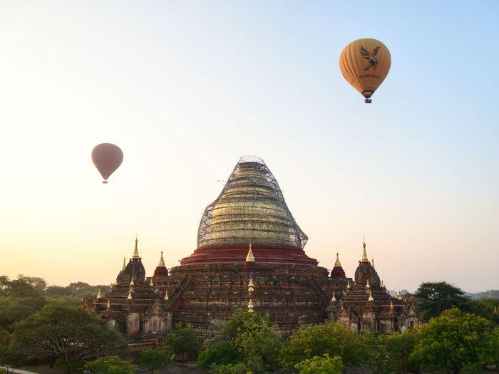 Dhammayazika Pagoda Pagoda Ancient Religion History Travel Destinations Tourism Arrival