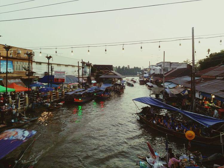 Amphawa~ #market Water Sky