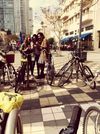 Israeligirls Walking Around The City  Shabbatshalom