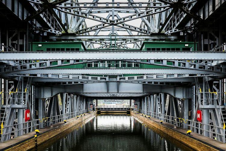 Dock in shipyard