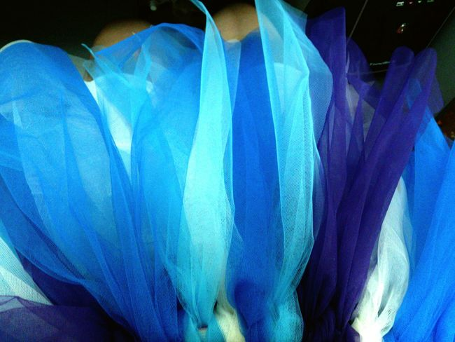 Showcase July Company Dinner Diy Project Tutus Tutudress Ballerina Girl's Dream Textile Love The Texture Dreamy Blues Lavender Texture Lets Go To The Party