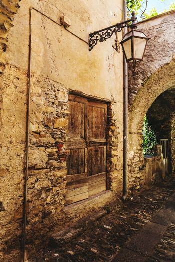 Built Structure Architecture Building Exterior No People Outdoors Day Door Doors Lover Building Ancient Travel Destinations Dolcedo Italy🇮🇹 Italia Village