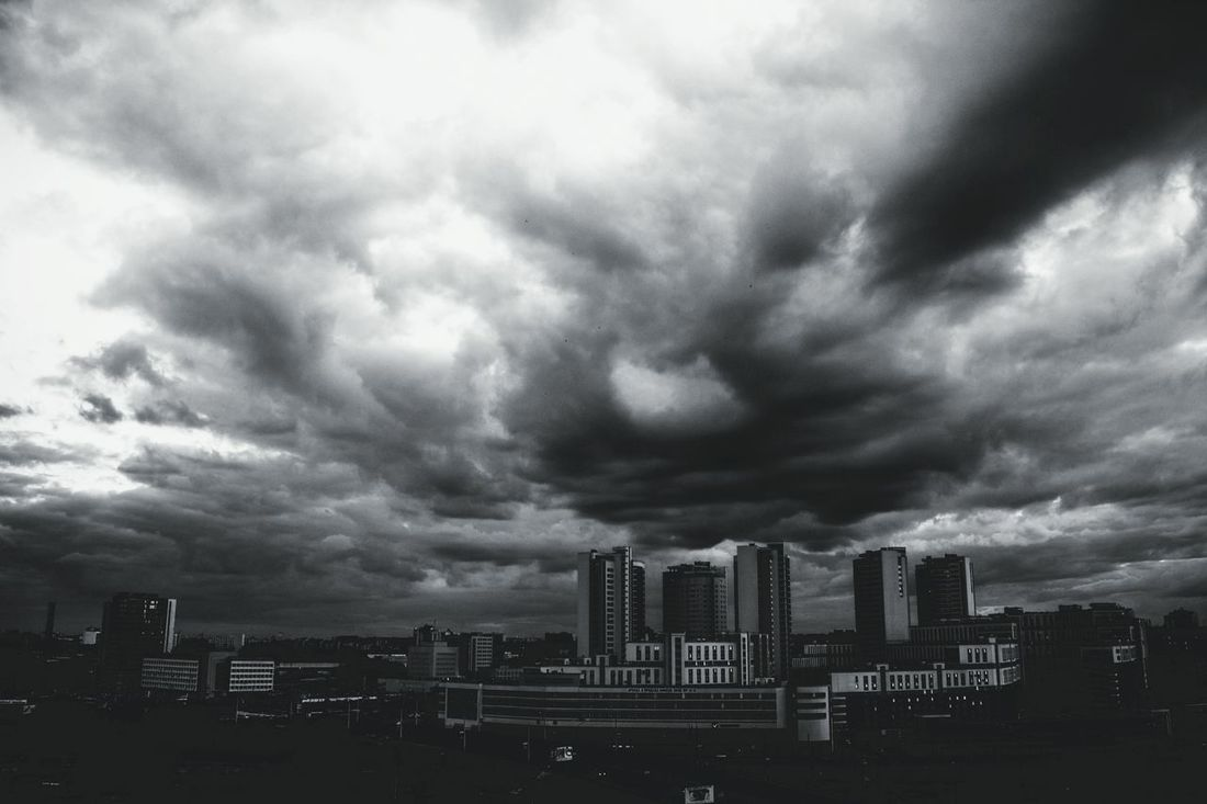 Streetphotography City Cityscapes Town B_w B_w Collection Blackandwhite Black And White Monochrome Clouds And Sky Clouds Sky Street Photography Popular Photos Bestoftheday OpenEdit Taking Photos Taking Pictures