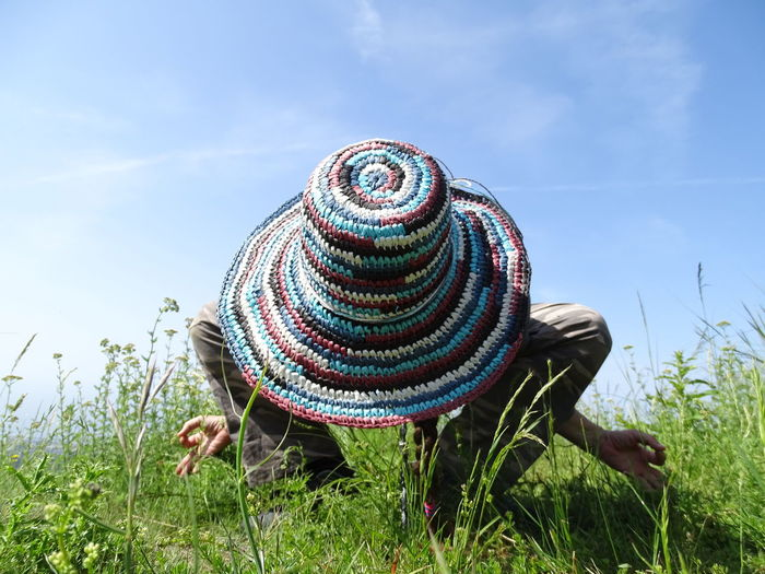 Green Yoga In Nature Yoga Relax Relaxing Colors Sky Close-up Grass Concentric