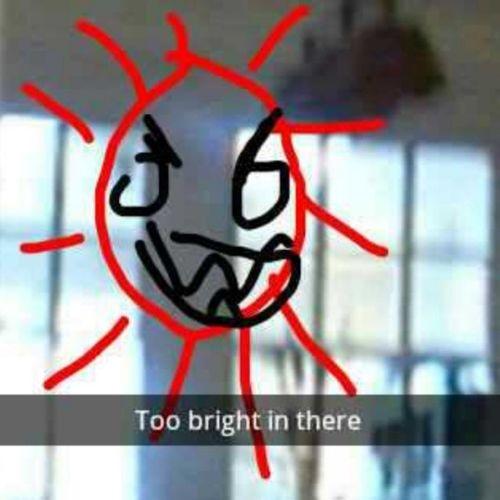 Too bright Toobright Snapchat Snapchatbeta