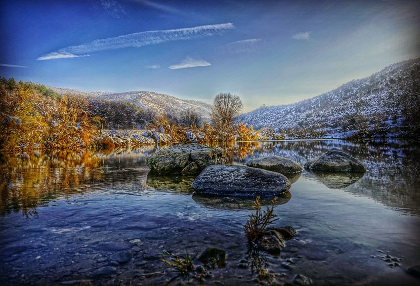 Rock Rocks Nature_perfection Lake Lake View Lakeside Turkey Landscapes Water Reflections Water_collection Landscape Landscape_photography Landscape_Collection HDR Hdr_Collection Winter Wintertime Winterscapes Snow Mountain Clouds And Sky Sky Taking Photos Sony A6000 Enjoying Life