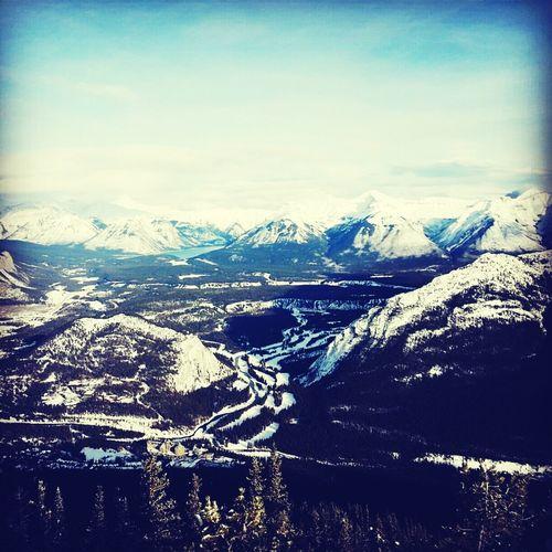 Banff National park, Rocky Mountains, Alberta, Canada. December 2012. Cold Canada Rocky Mountains Alberta Scenic Banff National Park  Snow